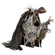 As much as I love this, I don't think I could own one.  They scared the hell out of me when I was a kid.