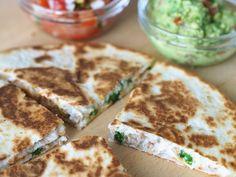 Makuja kotoa: Juustoiset ja rapeat quesadillat