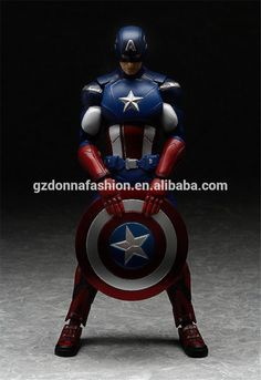 Wholesale PVC The avenger alliance Captain America figma226 movable joints action figure, View captain America, donnatoyfirm Product Details from Guangzhou Donna Fashion Accessory Co., Ltd. on Alibaba.com