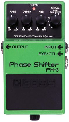 Buy online Boss Phase Shifter pedal at MusicNexo