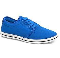 Canvas sneakers  Available in Blue and Red.    Shoe Size: 6-11