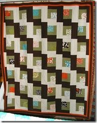 Cascading Charms-Fabrics N Quilts-free pattern here:http://www.fabricsnquilts.com/FabricsNQuilts_free_pattern.html