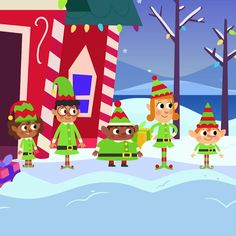 Practice counting down from five with Five Little Elves! Last Christmas Song, Preschool Christmas Songs, Christmas Videos, Preschool Songs, Christmas Music, Christmas Elf, Simple Christmas, Xmas, Bee Activities