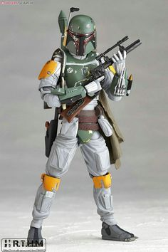 ==> [Free Shipping] Buy Best Revoltech STAR WARS REVO No.005 Boba Fett Action Figure Game figure kids toys Online with LOWEST Price | 32361595431