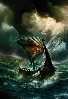 Dig into hundreds of articles about Norse mythology, Nordic culture, and Vikings Art Viking, Viking Books, Viking Life, Viking Ship, Viking Warrior, Tattoo Avant Bras, Viking Longboat, Thor, Germanic Tribes