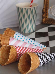 I scream for icecream  Pour télécharger les cônes à cornet de glace : alicesurlegateau....