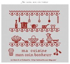 Miniature Cuisine theme  multi functional craft pattern use for: cross stitch chart or cross stitch pattern, crochet pattern, knitting, knotting pattern, beading pattern, weaving and tapestry design, pixel art, micro macrame, friendship bracelets, and other crafting projects.