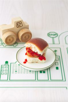 Saucy Meatball Sliders from Real Baby Food