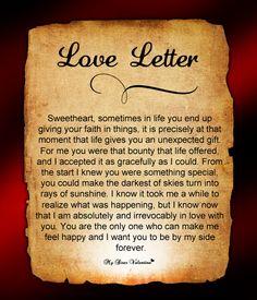 Love Letter For Him #91