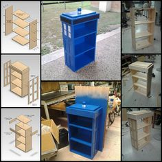 Tardis Bookcase for....
