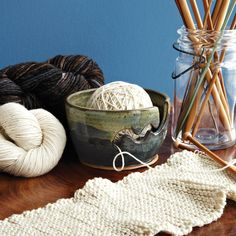 Keep your yarn from rolling and unraveling with this innovative yarn bowl.