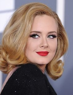 Adele makeup- love this lady