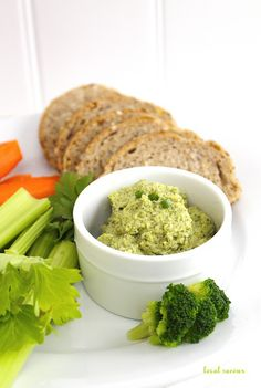 Get ready, broccoli lovers! This hummus was made for you. It's weird to think of the treelike green veggie being turned into a dip, but it sure is tasty — and packed with vitamin E. Grab the recipe from Local Savour.