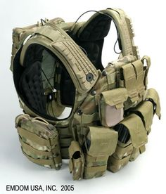 I dont know exactly what this is bit i like it. Looks like a plate carrier and modular rifle chest rig in multicam.