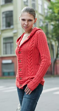 Cassidy by Bonne Marie Burns is a bottom-up knit with positive ease and knit in 10ply Worsted weight yarn.  Sized for 36 (38, 40, 42, 46, 50) inches