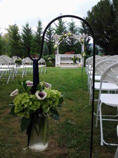 Sheppard hooks for ceremony