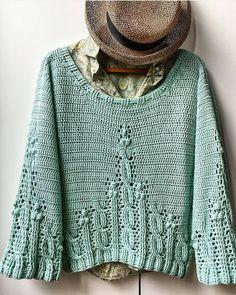 Beginner Crochet Projects, Crochet For Beginners, Knitting Projects, Crochet Cardigan, Knit Dress, Knit Crochet, Crochet Woman, Crochet Fashion, Crochet Clothes