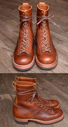c665f67dd Red Wing Boots, White Boots, Mens Lace Up Boots, Leather Boots, American