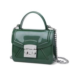 a6ebbd3b79 Aliexpress.com   Buy Lady Handbags 2016 New Jelly Chain Shoulder Bag Luxury  Hand Casual Clutch Silicone Women Bags Designer Style PVC Messenger Bags  from ...