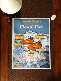 Star Wars Poster Bespin Cloud Car Retro by AwesomopolisArt on Etsy, $25.00 Cloud City, Star Wars Poster, Science Fiction, Clouds, Stars, Retro, Handmade Gifts, Sci Fi, Kid Craft Gifts