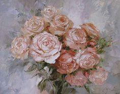 Роза - королева цветов... Во все времена живописцы изображали розы на своих картинах... (запись Яна в блоге ТерСО)