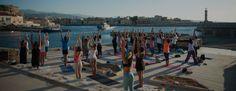 Yoga in Crete is a dream....