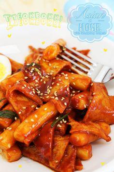 Tteokbokki Recipe : Easy and Quick Tteokbokki 초간단 떡볶이 만드는법