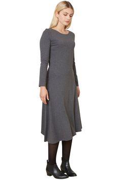 People Tree Bree asymmetric dress People Tree Bree Asymmetric jurk   Supergoods Ecodesign & Fair Fashion