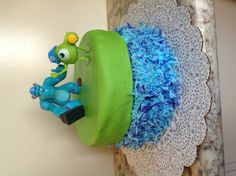 Monster's inc. cake easy to make at home