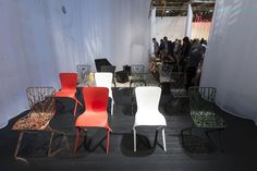 David Adjaye's Washington Skeleton and Washington Skin Chairs, Salone 2014.