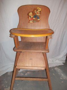 Antique Storkline Baby Furniture