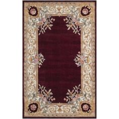 Jcp | Momeni® Open Field Hand Carved Wool Rectangular Rug