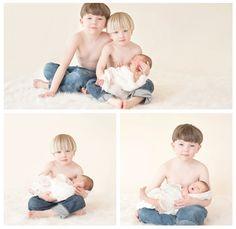 newborn portraits, newborn, newborn photography, newborn with siblings, Samantha K Photography