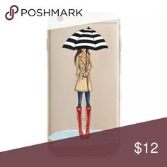 ☔️ FASHION GIRL IPHONE 7 SILICONE CUTE VOGUE FASHION GIRL IPHONE 7 SILICONE CASE 💙 BRAND NEW Accessories Phone Cases