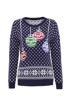 Bauble Jumper, £20, Debenhams   - Cosmopolitan.co.uk