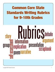 This CCSS aligned set comes from my larger The Complete High School English Rubric Bundle (please do not purchase both) and includes color-coded rubrics for argumentative, informative and narrative writing in both table and list format. Argumentative Writing, Narrative Writing, Informational Writing, Writing Rubrics, Writing Lessons, Writing Workshop, Common Core Reading Standards, Common Core Ela, Teaching Writing