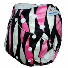 1 BABY AI2 MINKY PRINT RE-USABLE CLOTH DIAPER NAPPY+1 INSERT M18 [M18] - $5.59 : alvababy cloth diaper www.alvababy.com....If I ever had a girl....