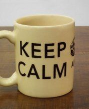 Keep Calm and Drink Coffee - ChicoRei