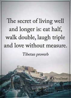 Wisdom Quotes : The secret of living well and longer. by Life Life Quotes Love, Wisdom Quotes, Great Quotes, Quotes To Live By, Secret Of Life Quotes, City Quotes, The Words, Cool Words, Positive Quotes