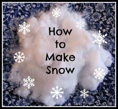 I often think about my readers that don't get snow, so I thought they would appreciate a post on making snow! We haven't really gotten mu...