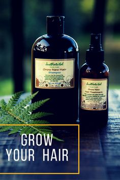 Grow New Hair Shampoo / Powerful, SAFE and gentle without any HARSH chemicals.