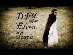 ▶ DIY: How to make Elven/Elf Tiara (circlet) - YouTube