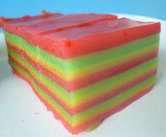 My Kitchen Snippets: Kuih Lapis/Steam Layer Rice Cake