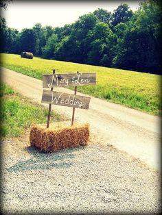rustic wedding idee