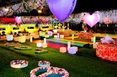 decoraçao 15 anos colorida - Pesquisa Google