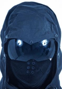 This would be a better headgear alternative than a helmet. They're thieves, not assassins. Though it may seem a tad excessive, identity protection/anonymity is essential. Tactical Survival, Survival Gear, Tactical Gear, Tactical Equipment, Survival Quotes, Survival Guide, Ninja Gear, Post Apocalyptic Fashion, Airsoft Gear