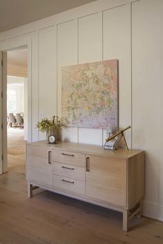 Modern Farmhouse: Office Credenza - Modern Organic Interiors