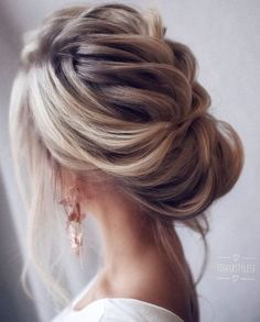 Loose & Romantic Wedding Hair from Tonystylist ~ such a pretty loose updo style. wedding hair inspiration - hair up - up do - Celebrate the Occasions Cedar City Utah Wedding Hairstyles For Long Hair, Wedding Hair And Makeup, Up Hairstyles, Hair Wedding, Bridal Hairstyles, Hairstyle Wedding, Bridal Updo, Hairstyle Ideas, Wedding Bride