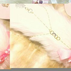 New princess tail ear and collar necklace set