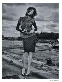 visual optimism; fashion editorials, shows, campaigns & more!: la parisienne: ruby aldridge by taki bibelas for l'officiel paris august 2013